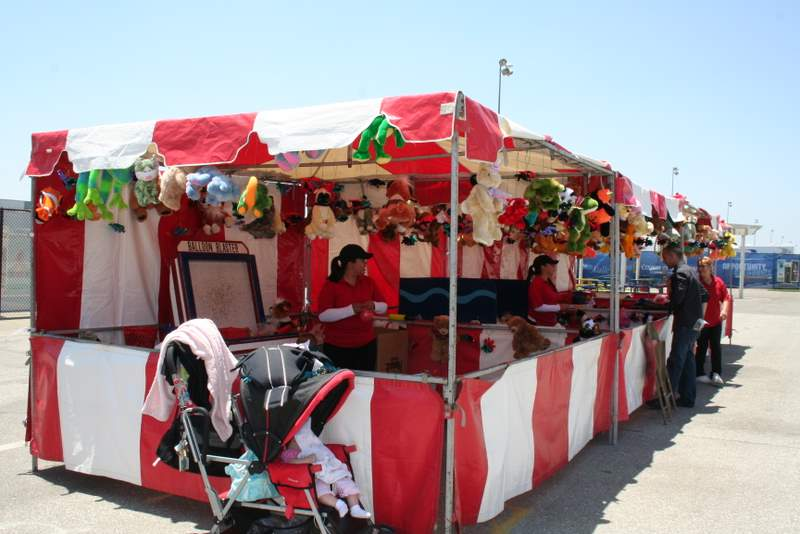 10'x10' Carnival Booths