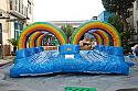 Dbl. Lane Slip n Slide w/ Pool